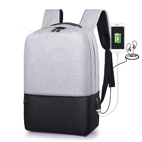 Mochila Antirrobo USB Mochila de seguridad con cargador ...