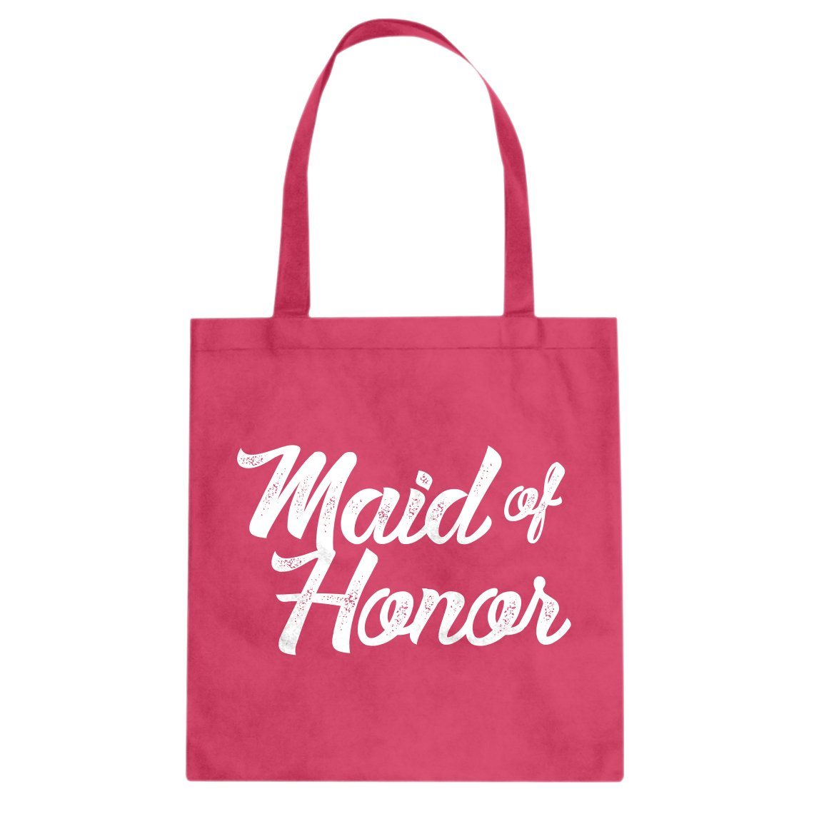 Indica Plateau Maid of Honor Cotton Canvas Tote Bag