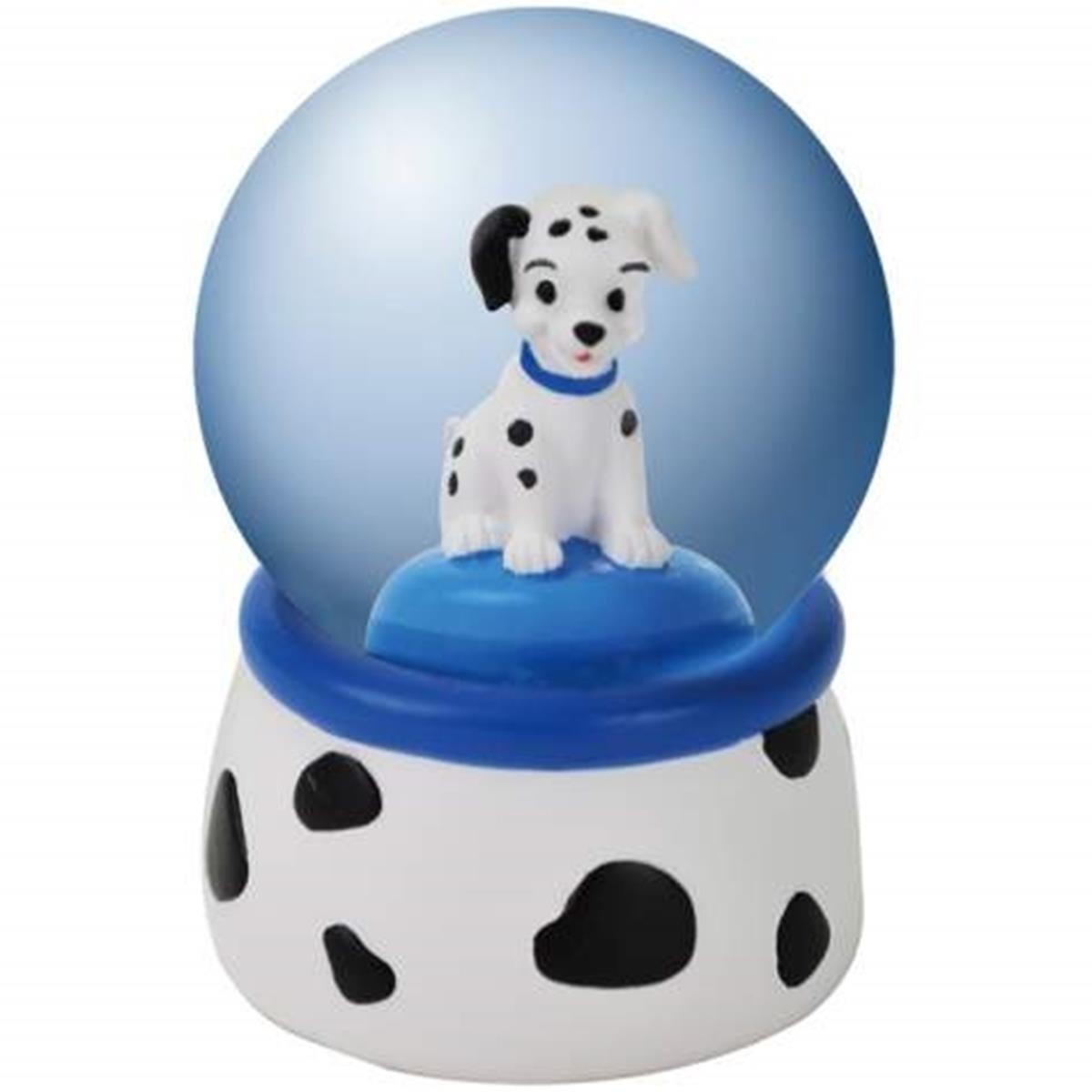 WL SS-WL-22851 45mm Dalmatian Puppy Looking Forward with Blue Collar Water Globe