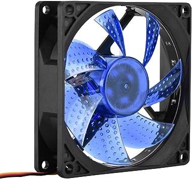 Eboxer Ventilador silencioso PC 90 mm LED Ventilador Caja de ...