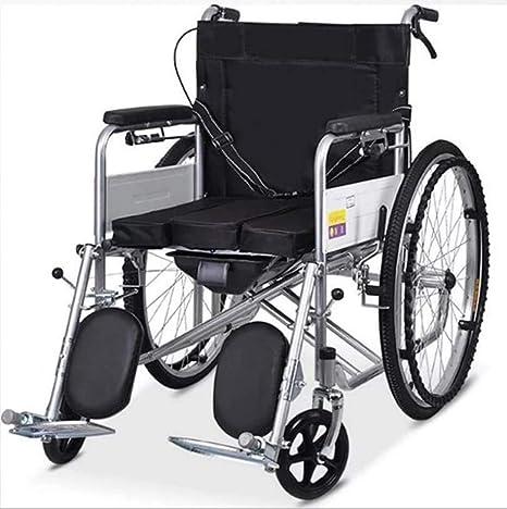 Amazon.com: GJX Silla de ruedas multifuncional, plegable, de ...