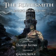 The Runesmith: The Greenwood, Book 2 Audiobook by Galen Wolf Narrated by Damon Alums