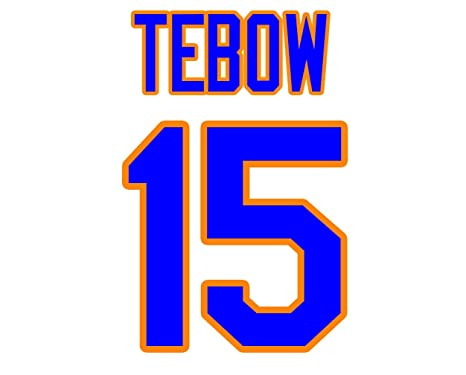 brand new 9519f 864bb Tim Tebow New York Mets Jersey Number Kit, Authentic Home ...