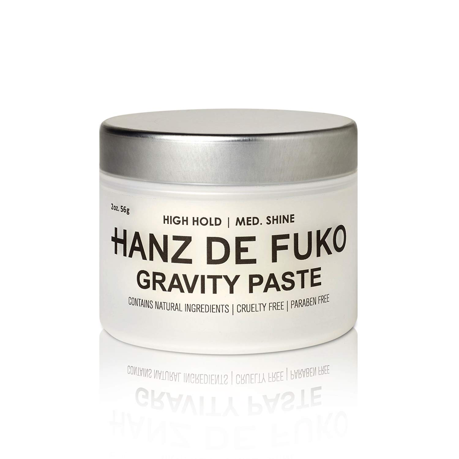 Hanz de Fuko Gravity Paste: Men's Premium Hair Styling Paste with Medium Shine Finish (2 oz)