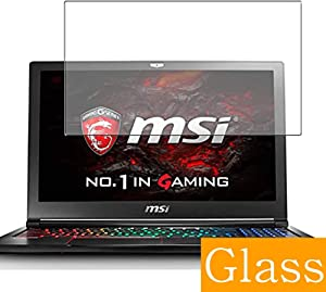 """Synvy Tempered Glass Screen Protector for MSI GS63VR 6RF Stealth PRO (004JP) 15.6"""" Visible Area Protective Screen Film Protectors 9H Anti-Scratch Bubble Free"""