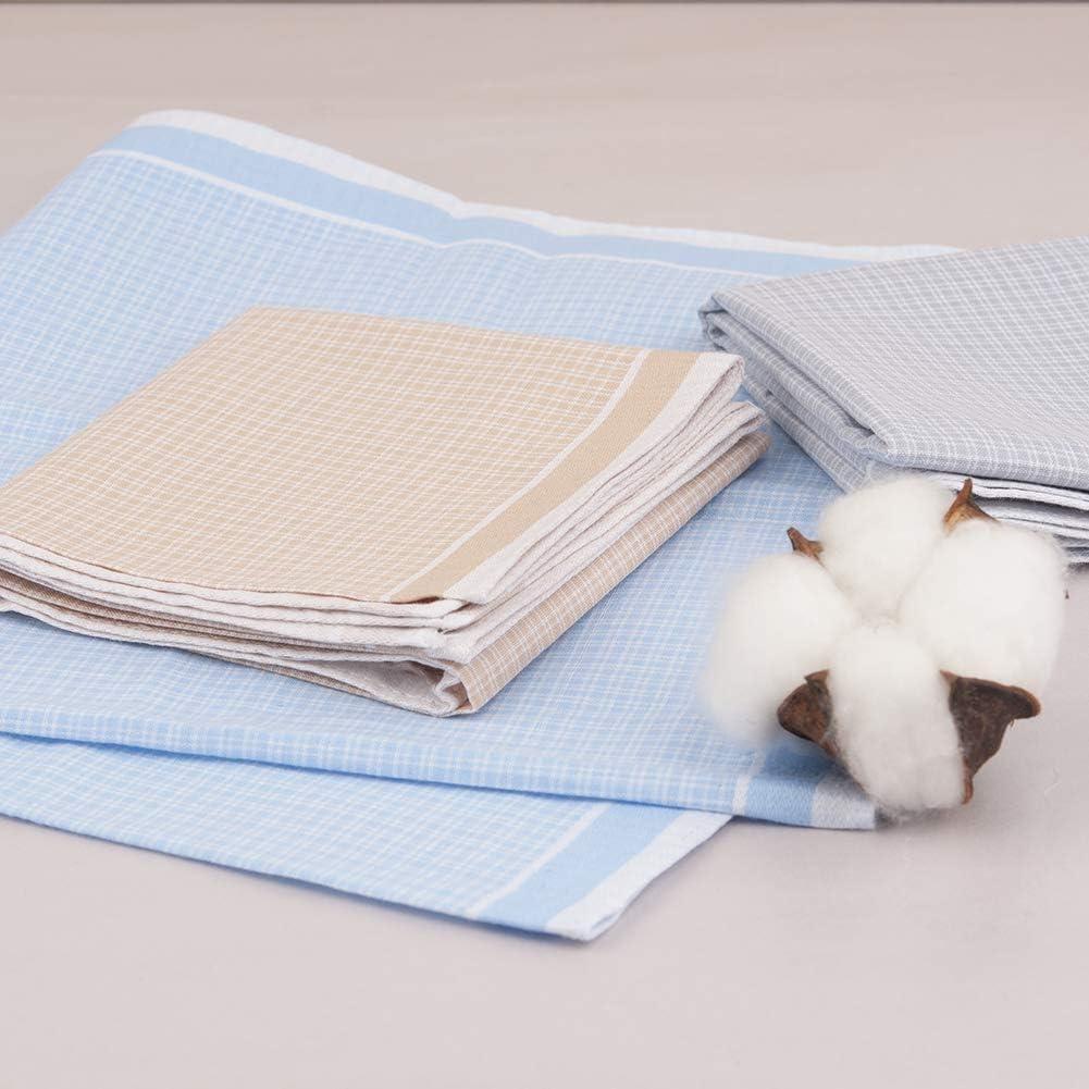 Premium Hombre 100/% Cotton Pañuelo Cuadrado de Bolsillo Pañuelo Detalle Boda GB