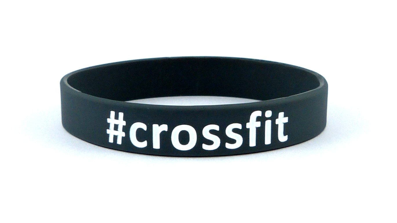 Fitness & Bodybuilding Sportwristband #Crossfit Training Workout Sports Gym CrossFit Equipment Accessories Silicone Rubber Band Wristband Bracelet Unisex New sportwristbands.net