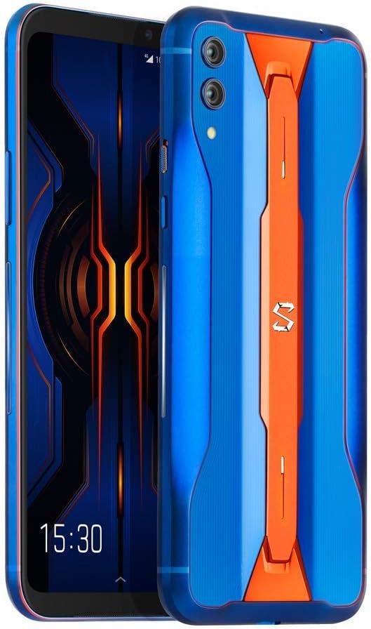 Black Shark 2 Pro 12GB + 256GB Azul - Double SIM, AMOLED 6,39 pouces, Snapdragon 855 Plus, GPU Adreno 640, Refroidissement par Liquide 3.0+, Double Caméra Arrière 48MP + 12MP, Teléfono de Juego