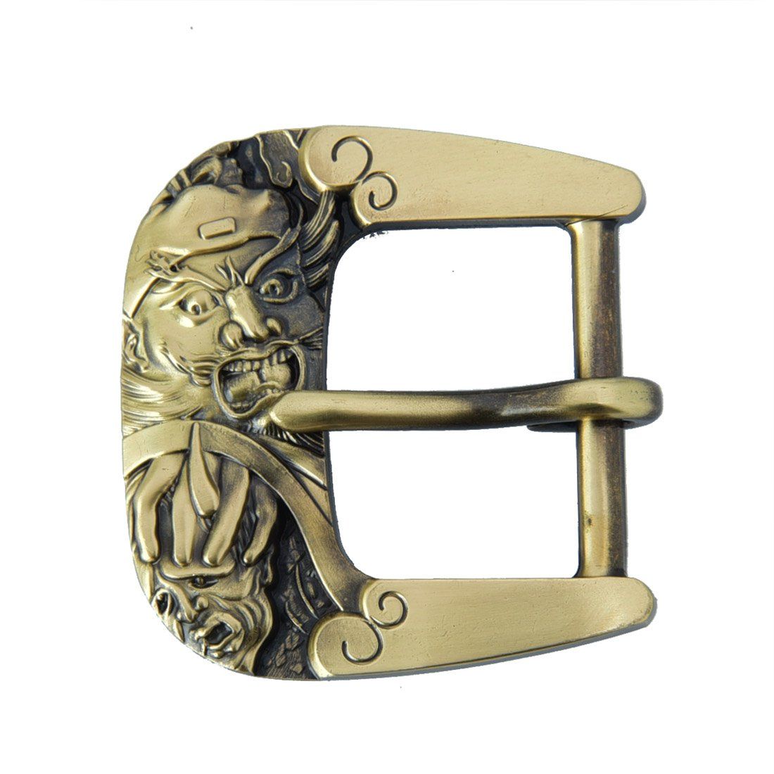 Talleffort Belt Buckle 1-1/2 Solid Brass SBB-0015