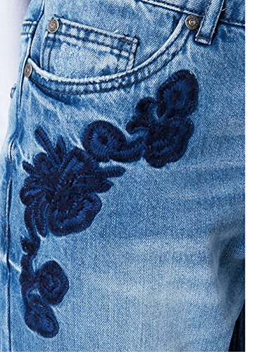 Onltonni Only Jeans Bj BF Femme bleu DNM EMB Hq6qd