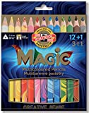 Koh-I-Noor Magic Jumbo Triangular Coloured Pencil (Pack of 13)