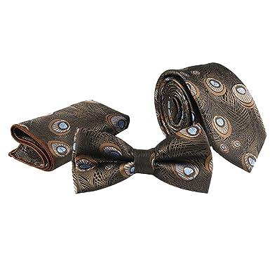Fascigirl Hombres Corbata Corbata De Hombre Moda Pavo Real Modelo ...