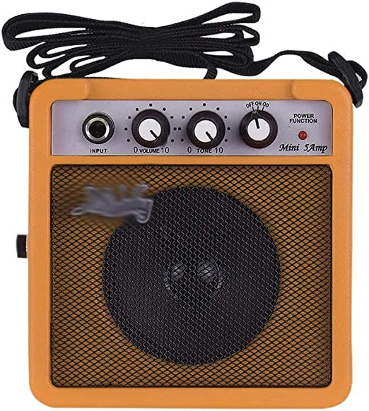 Zyj 5W Mini Altavoz de Amplificador de Guitarra 3.5 mm Soporte de ...