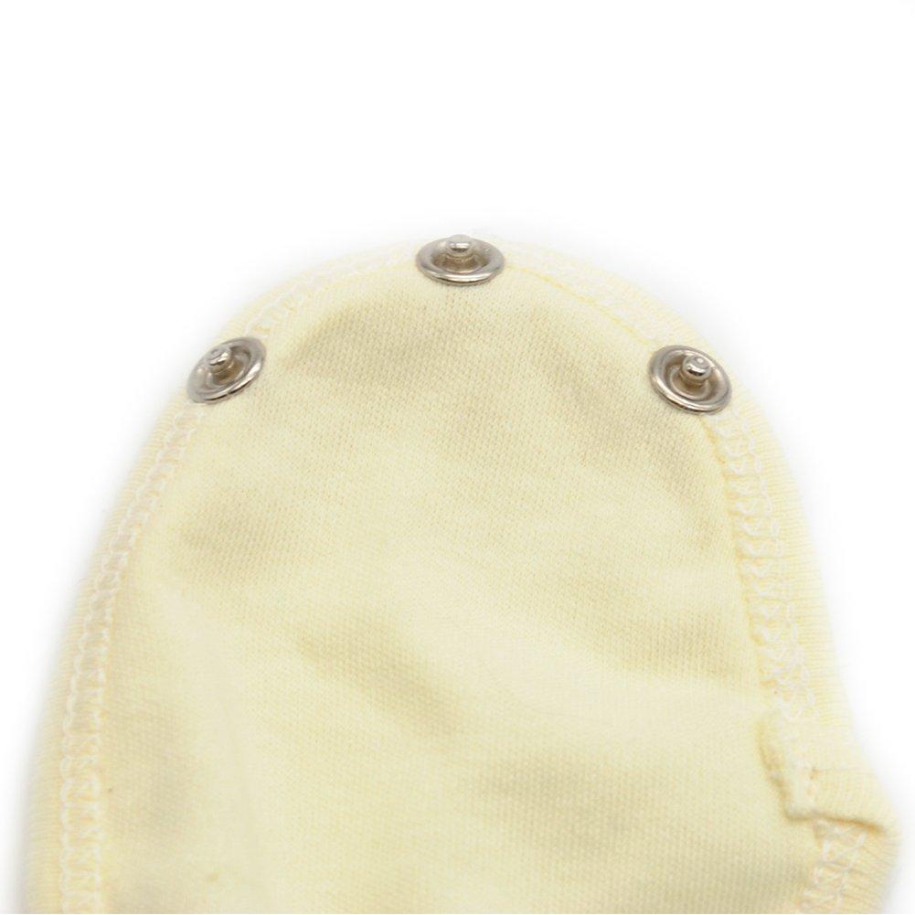 para beb/és ni/ños y ni/ñas universal suave ropa de beb/é para alargar la vida /útil rosa rosa Extensor de traje de body 4 piezas