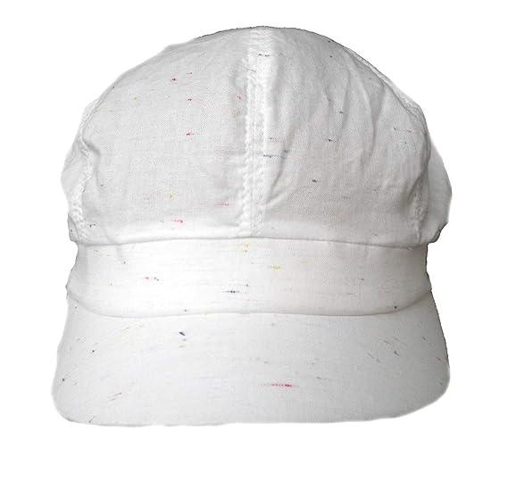 Damen Schirmmütze leichte Leinen Sommer Mütze Weißtöne Cap Damenmützen Damenhüte