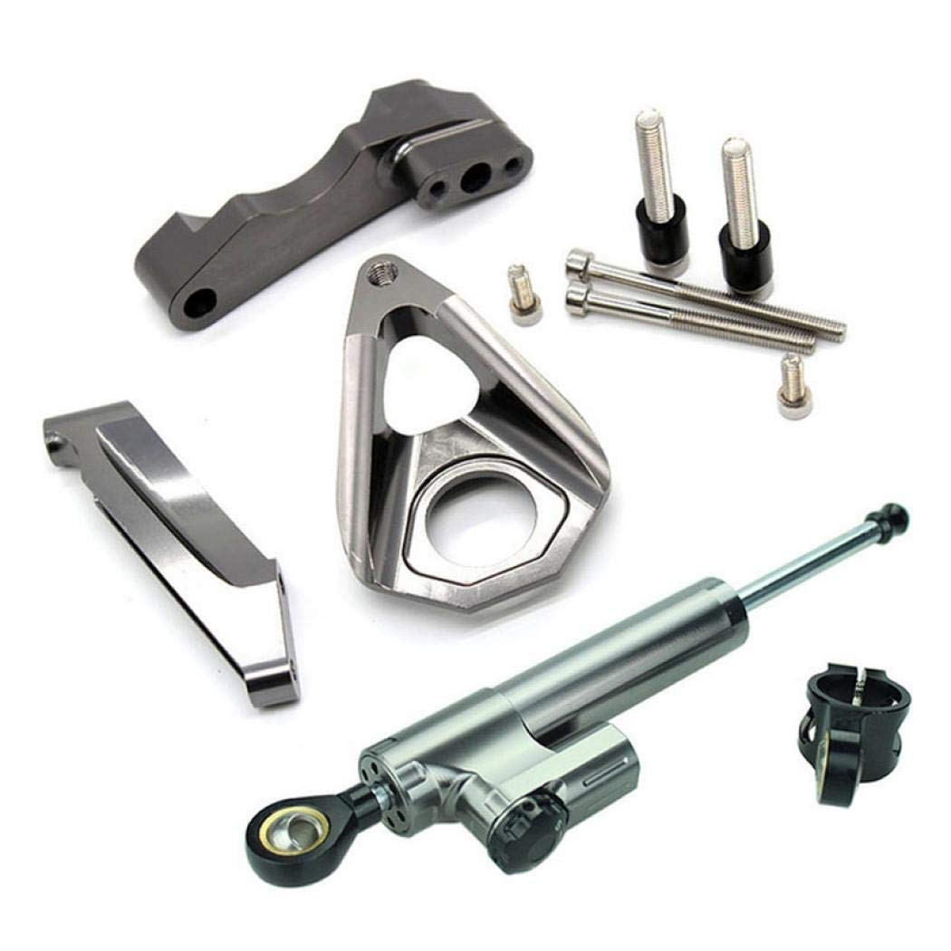 motorcycle Steering stabilizzatore serrande buffer ricambio bar con staffa di montaggio kit set per s-uzuki Gsxr gsx-r 600/750/1000/GSXR600/GSXR750/GSXR1000/2001/ /2004/2002/2003