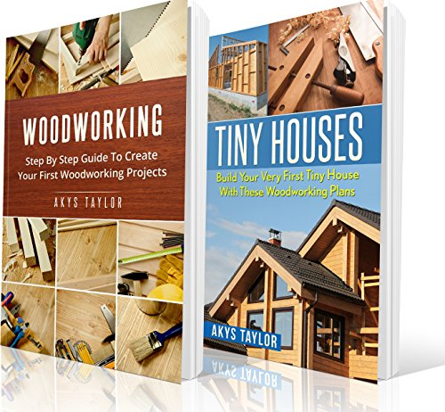 Rack Woodworking Plan - Woodworking: 2 Manuscripts + 6 Free Books Included - Woodworking, Tiny Houses Tips (Tiny House Living, Woodworking Projects, Tiny House Plans, Tiny House, ... House Floor Plans, Microshelters Book 11)