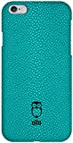 ullu SnapOn in Stingray Leather Cell Phone Case for iPhone 6 Plus - Retail Packaging - Turqish Delight