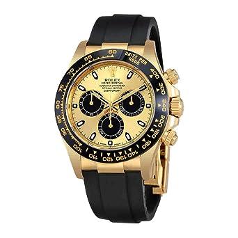 28e8869750d Image Unavailable. Image not available for. Color: Rolex Cosmograph Daytona  Chronograph Automatic Oysterflex Mens Watch 116518CBKSR