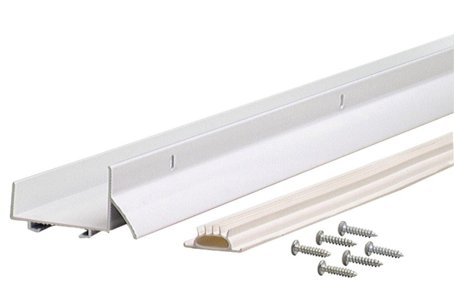 M-D Building Products 6403 36-Inch Fits 1-3/4-Inch Doors U-Shaped Door Bottom with Drip Cap