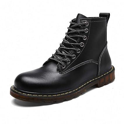 3b05c90997070 Amazon.com: Giles Jones Mens Combat Boots Autumn Winter Retro High ...