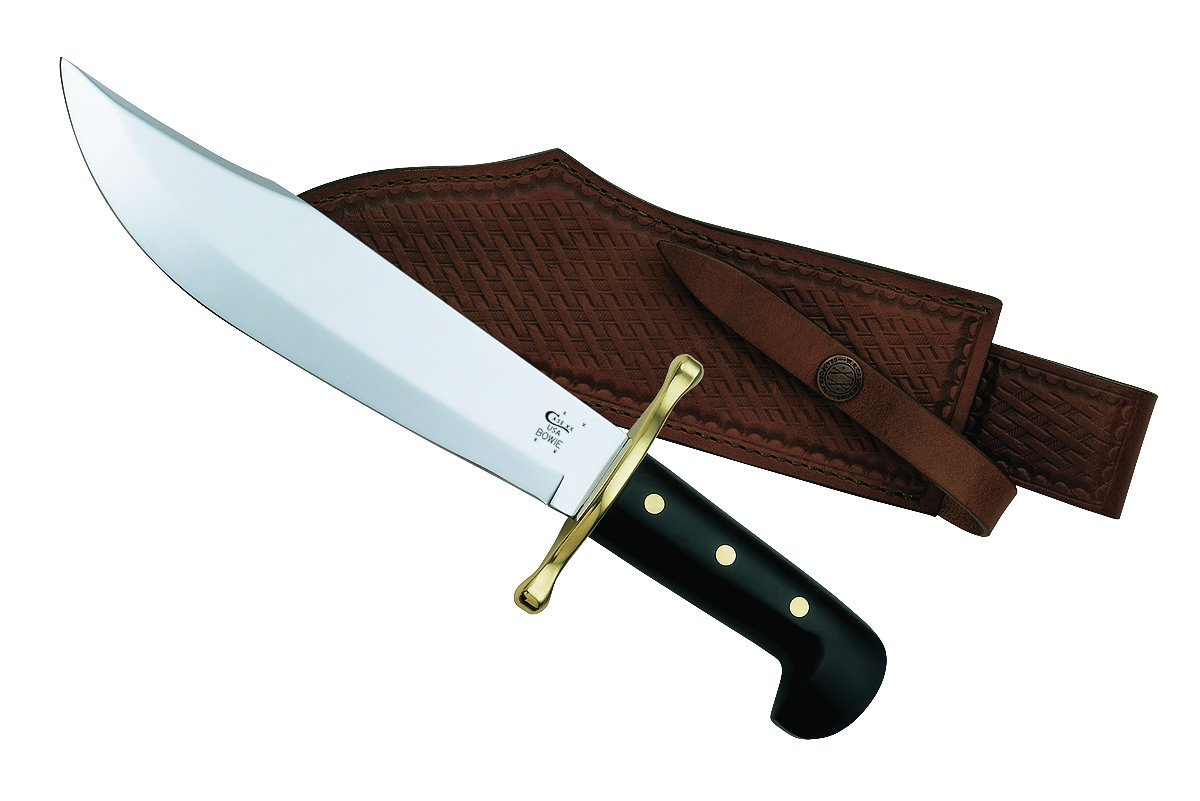 Case Bowie Black Handle Knife by Case