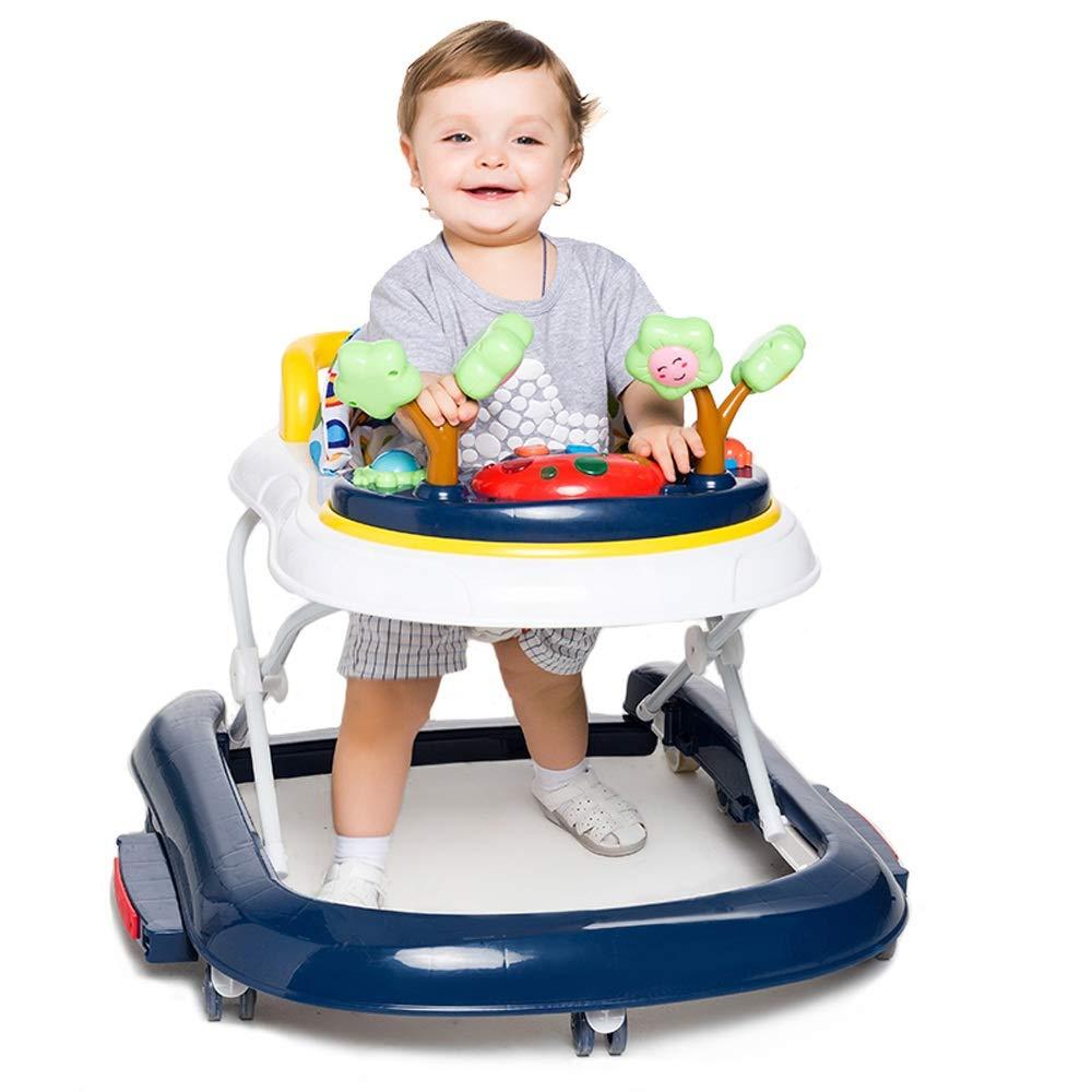 GAOJIE 子供の歩行器6-18ヶ月多機能タンブリングU字型歩行者の折り畳み (色 : A)  A B07KWYH8WT