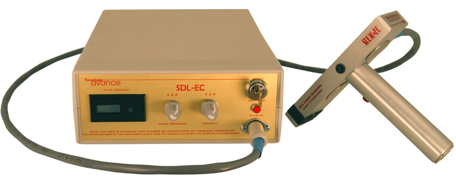 SDL90ec Epidermal Contact Laser for Hair Removal, Skin Resurfacing, Tattoo Erasure