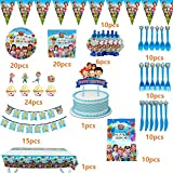 Cocomelon Birthday Party Supplies for 1st