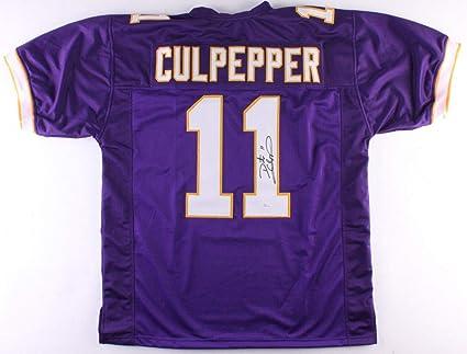 41474f29c Daunte Culpepper Autographed Signed Minnesota Vikings Jersey - JSA Certified