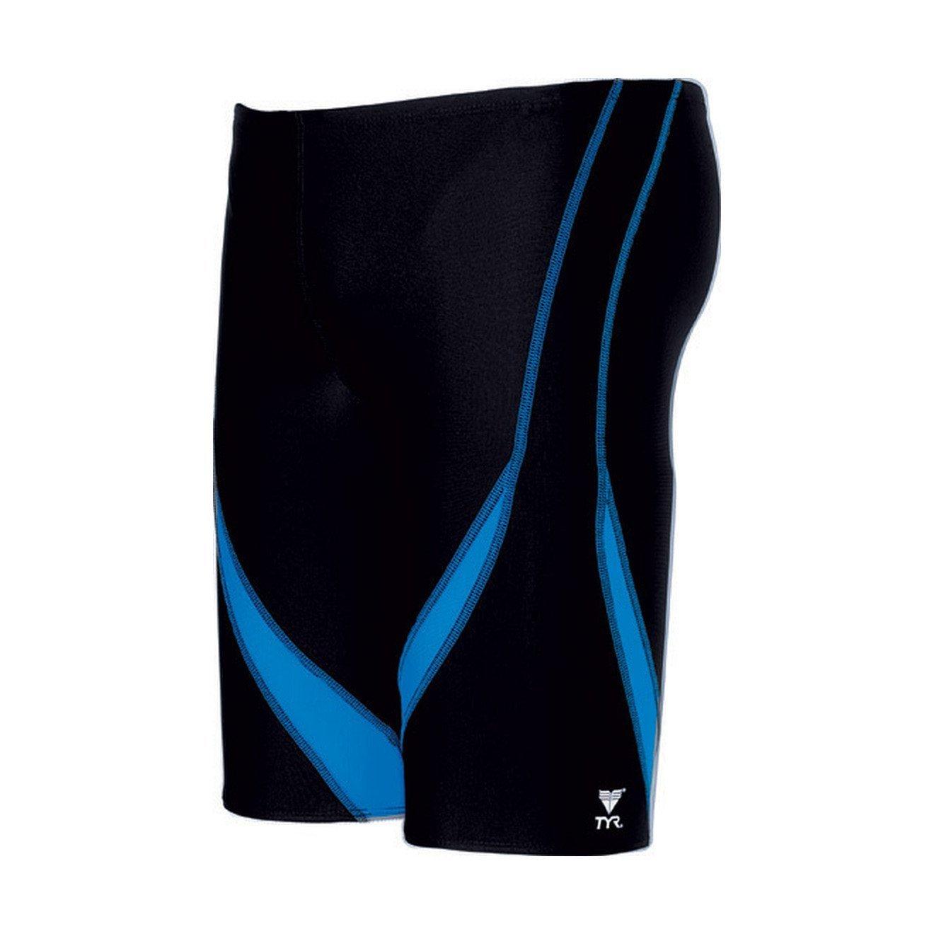 Tyr Alliance Splice Jammer Male Black/Blue 32 Medium by TYR
