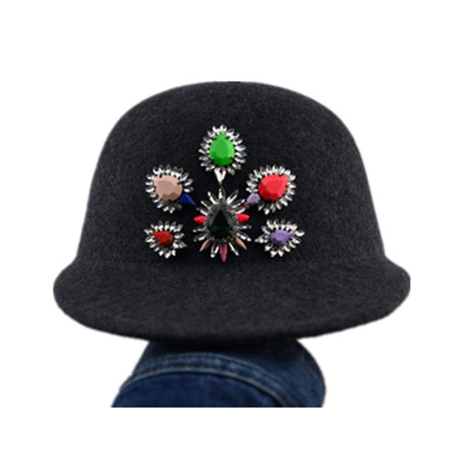1 Xivikow 2019 Fashion Korean Fashion Wool Feather Lady hat Women Fashion hat 650