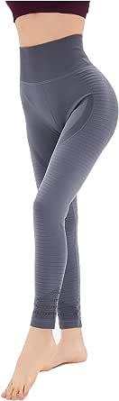 Dutte Dutta Women's Leggings Breathable Hollows Elastic Running Workout Yoga Pants