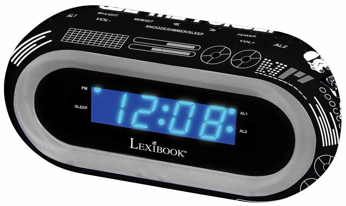 LEXIBOOK RL140SW Star Wars Disney Alarm Clock