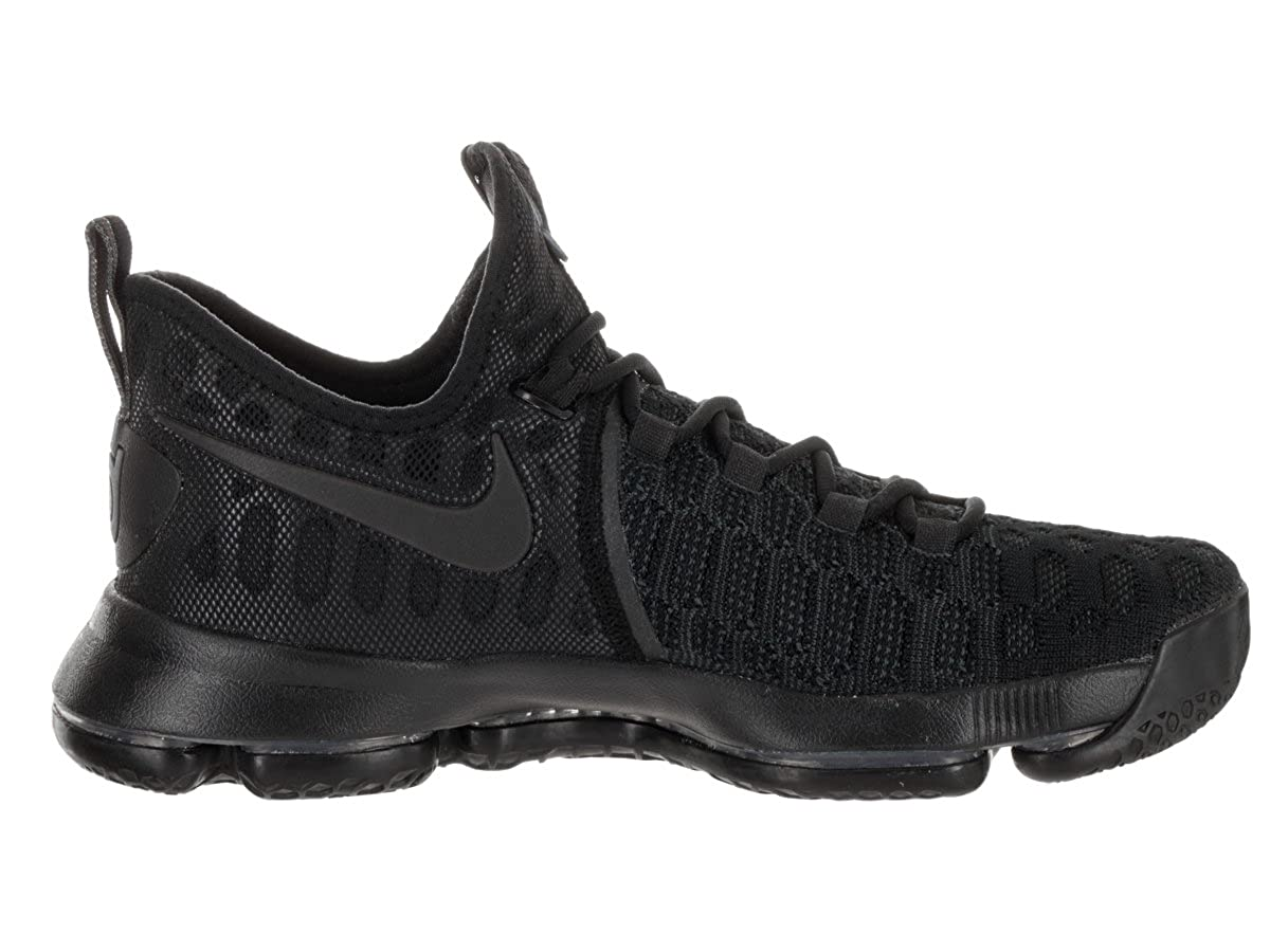 super popular c5e8e 52160 Amazon.com   Nike Men s Zoom KD 9 Basketball Shoe (Black Black Anthracite)    Basketball