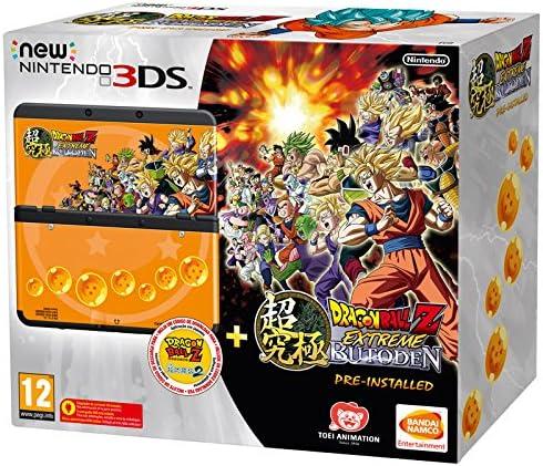 New Nintendo 3Ds: Console + Dragon Ball Z: Extreme Butoden Pack - Bundle Limited Edition [Importación Italiana]: Amazon.es: Videojuegos
