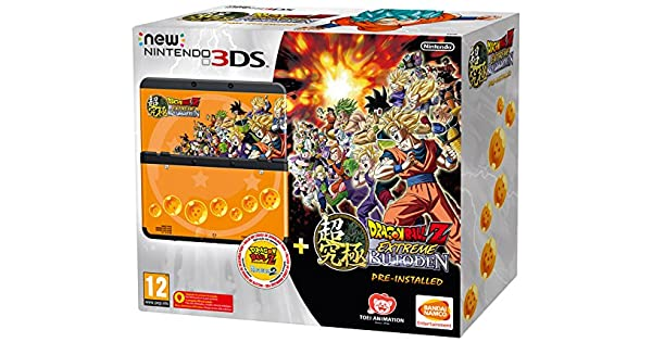 New Nintendo 3Ds: Console + Dragon Ball Z: Extreme Butoden Pack ...