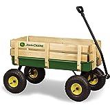 Amazon Com John Deere 36 Quot Steel Wagon With Wooden Stake