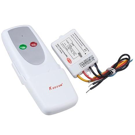KEDSUM Wireless 1 Way ONOFF Digital Remote Control Switch 110V – Kedsum Bluetooth Wiring Diagram