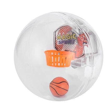 Ballylelly Juego de Baloncesto electrónico portátil de Mano Juego ...