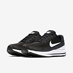 nike womens running shoes black and white