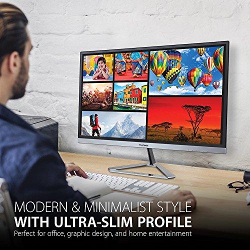 ViewSonic VX2276-SMHD 22'' IPS 1080p Frameless LED Monitor HDMI, DisplayPort by ViewSonic (Image #2)'