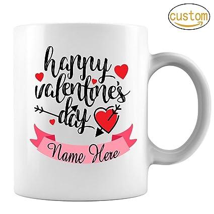 Amazon Com Valentine S Day Coffee Mug Happy Valentine S Day Mug