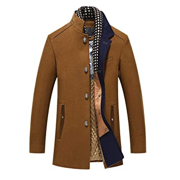 Men's Clothing Blazers Men Autumn Winter Slim Fit Fashion Business Casual Long Suit Jacket Overcoat Male Thick Warm Blazer Coat Outerwear