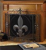 VERDUGO GIFT CO Fleur-De-Lis Fireplace Screen