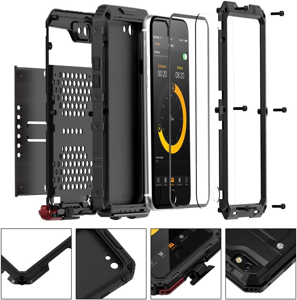 seacosmo Cover iPhone 6 Plus, [Waterproof] Custodia Impermeabile Corpo Completo con Protezione Incorporata dello Schermo per Apple iPhone 6S Plus, ...