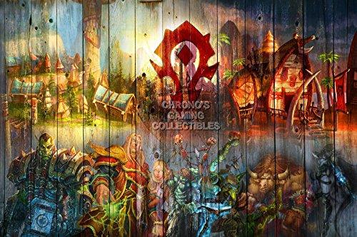 (CGC Huge Poster - World of Warcraft Horde Heroes PC - EXT169 (24