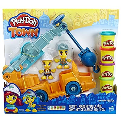 Play-Doh Town Power Crane: Toys & Games