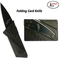 Survival Tool Credit Card Folding Knife Stainless Steel Multi-Function Card Shape Pocket Wallet Knife Cutter