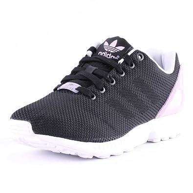 best sneakers 123f9 59ae8 adidas ZX Flux Weave Damen Sneaker, SchwarzLila - Größe 42